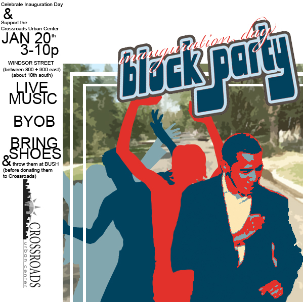 Obama Inauguration Block Party